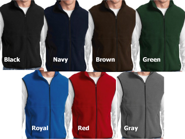 Boat Name Fleece Vest