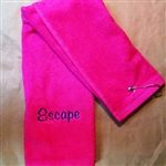 Hanging Boat Name Hand Towel