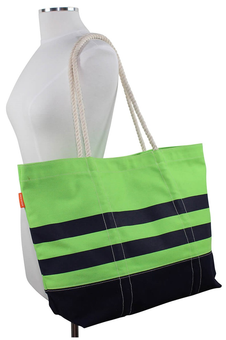 Lime Boat Tote