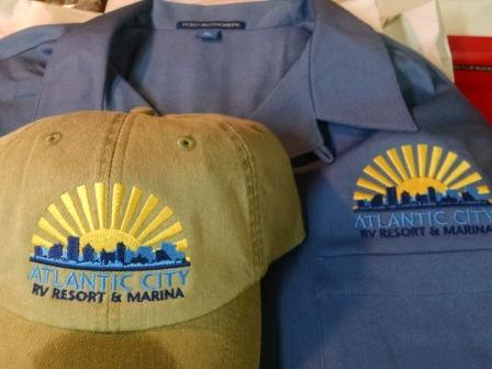 Atlantic City Boat Yard Hats Shirts