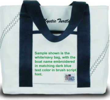 SailorBags Newport Mini Sailcloth Tote