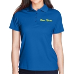 Ladies Wicking Performance Boat Name Polo