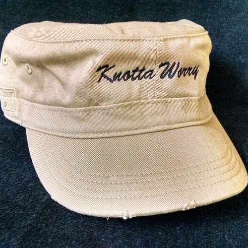 Custom embroidered boat name hats and visors